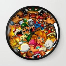 Super Mario Bros. Battle Wall Clock