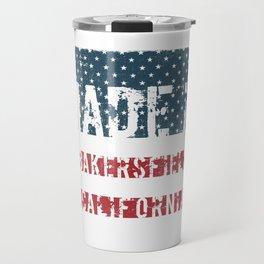 Made in Bakersfield, California Travel Mug
