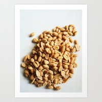 peanuts Art Prints featuring Salted Peanuts by Steve P Outram