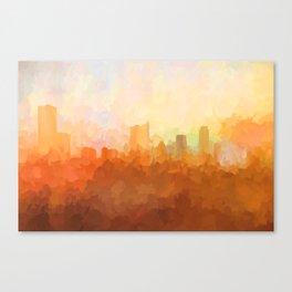 Austin, Texas Skyline - In the Clouds Leinwanddruck
