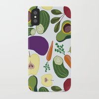 vegetables iPhone & iPod Cases featuring vegetables by Aina Bestard