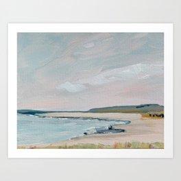 Crane Beach, Ipswich Art Print