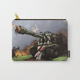 Bunny Crossing Carry-All Pouch