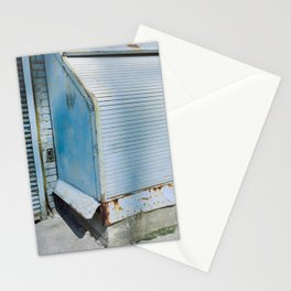 Blue Street Abstract 2 Stationery Cards