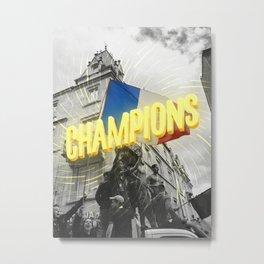 Champions Metal Print