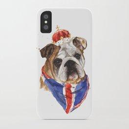 Thank you LONDON - British BULLDOG - Jubilee Art iPhone Case