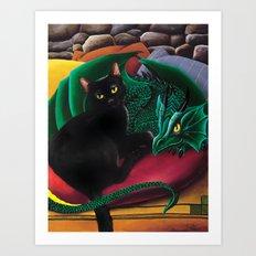 Kleo and George Art Print