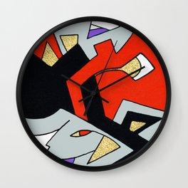 Deco Harley Quinn Wall Clock