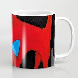 Voffi með fisk (Dog with fish) Coffee Mug
