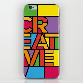 Creative - Stained Glass iPhone Skin