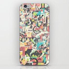 Cyrillic alphabet iPhone Skin
