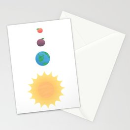 You are my Peach Stationery Cards