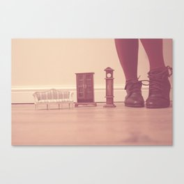 To be in Wonderland Canvas Print
