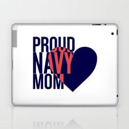 Proud Navy Mom Laptop & iPad Skin