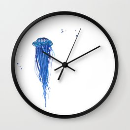 Cobalt Squishy Wall Clock