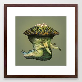 Wurdigo Framed Art Print