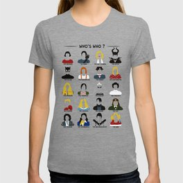 Who's who ? T-shirt