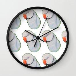 Indian Ringneck Wall Clock