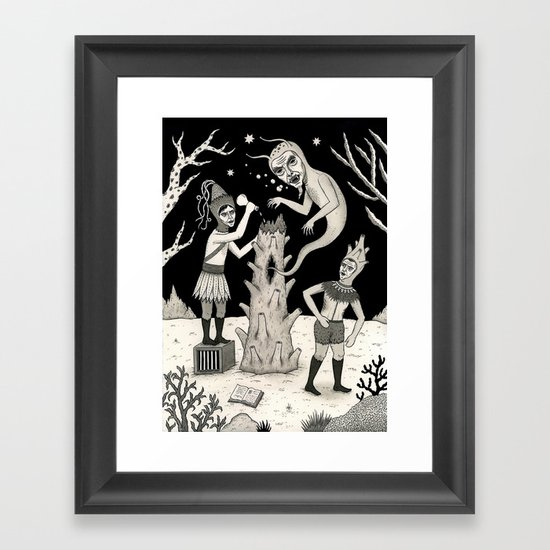 Evicted Framed Art Print