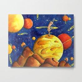 Dancer on a moon Metal Print