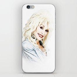 Dolly Parton - Pop Art iPhone Skin