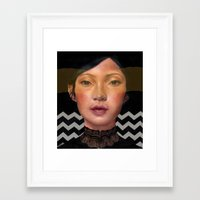 asian Framed Art Prints featuring Asian beauty by Stephanie Struse