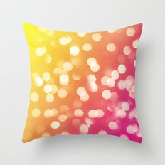 Lights & Gradients I Throw Pillow