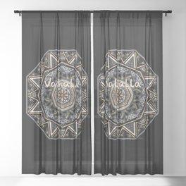 Valhalla's Gate  Sheer Curtain