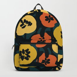 Midnight Flowers Backpack