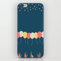 baloon iPhone & iPod Skins featuring Baloon by ARIS8