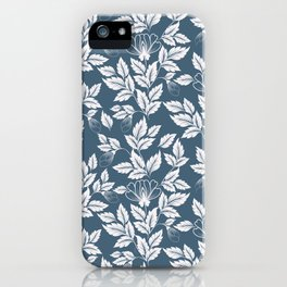 Leaves Pattern 7 iPhone Case