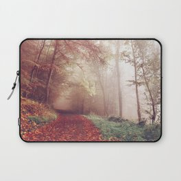 Autumn trees Laptop Sleeve