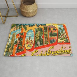 Greetings From Florida Rug