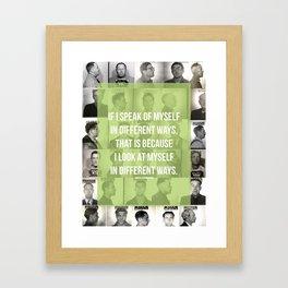 Montaigne 1 Framed Art Print
