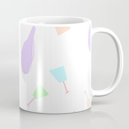 Cheers To Your Life no.6 - colorful pastel colors pattern Coffee Mug