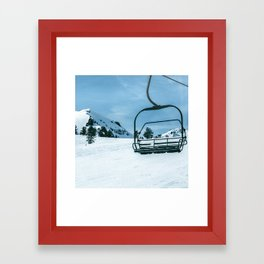 The Slopes Framed Art Print