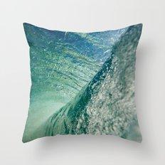 Inner Wave Break Throw Pillow