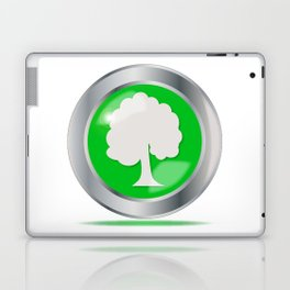 Oak Tree Button Laptop & iPad Skin