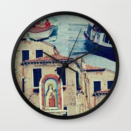 Maria, it's time to teenage riot Wall Clock