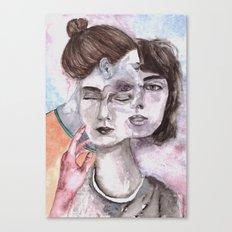 don't go Canvas Print