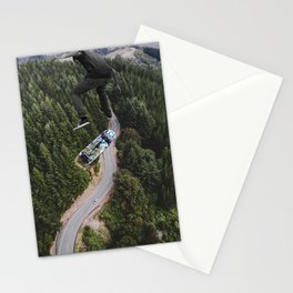 Jump higher Stationery Cards