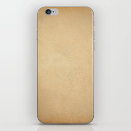 Page of paper iPhone Skin