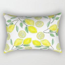 Life handed me lemons Rectangular Pillow