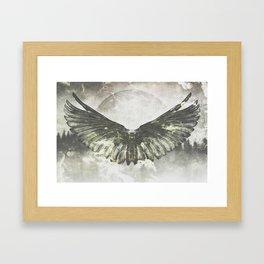 Wilderness in my heart Framed Art Print