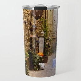 Cortona Alleyway Travel Mug