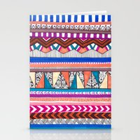 aqua Stationery Cards featuring AQUA by Vasare Nar