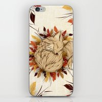 mandie manzano iPhone & iPod Skins featuring Night Fall by LouJah