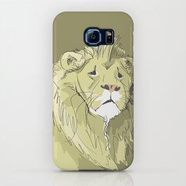 The Sad Lion iPhone Case