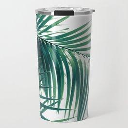 Palm Leaves Green Vibes #6 #tropical #decor #art #society6 Travel Mug