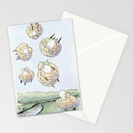 The Gas Phase of Matter Stationery Cards